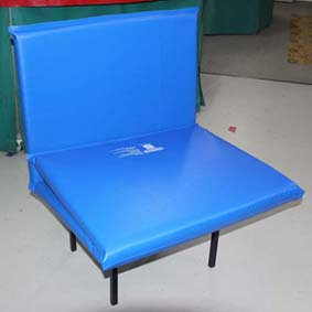 Foldable Mattress on Chair small