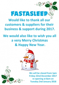 FASTASLEEP Wishes you a Merry Christmas